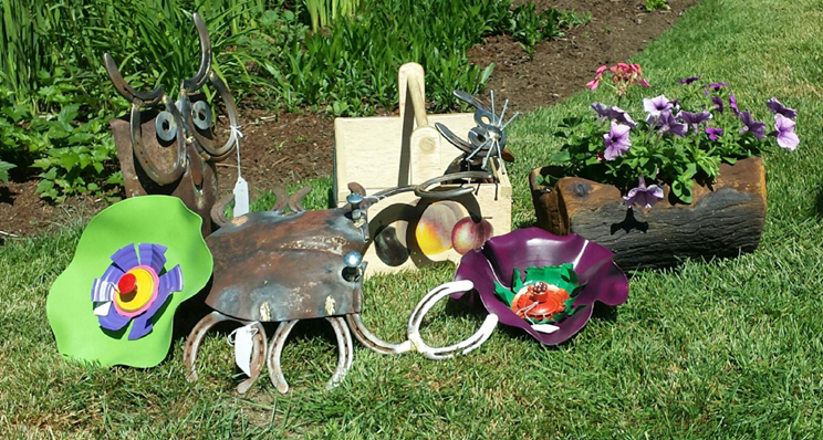 Typical Handicraft Items - outdoor items